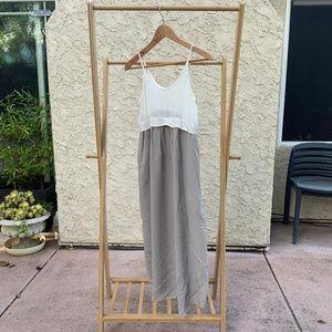 Wilfred Bisous Silk Midi Dress | Aritzia